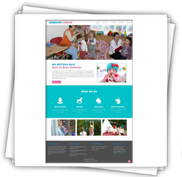 Templates HTML5 - Babycare Center/